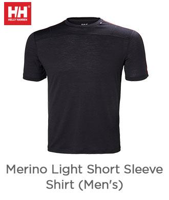Merino Light Short Sleeve Shirt