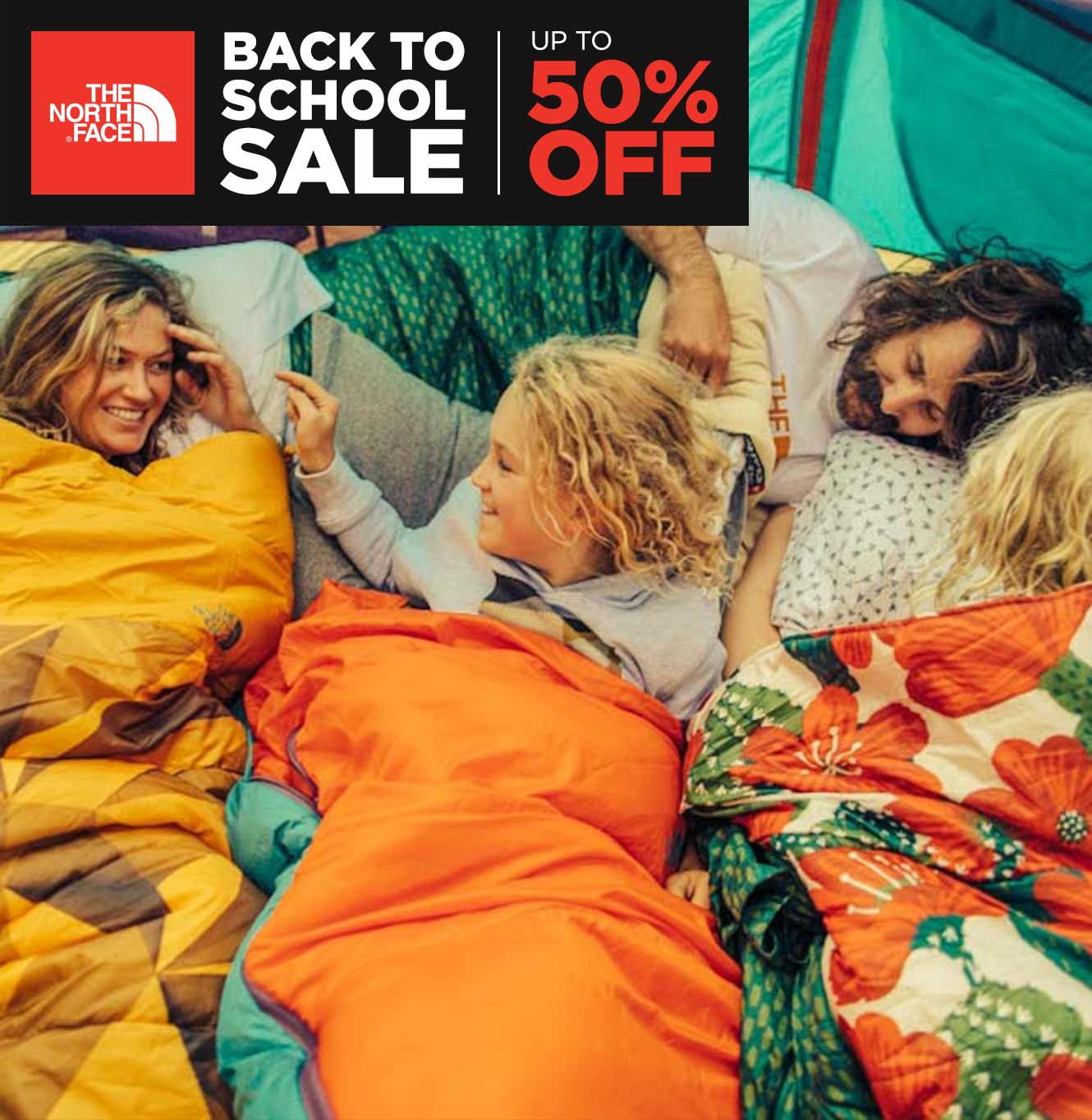 The North Face Back to School Sale: Up to 50% Off