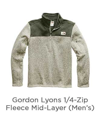 Gordon Lyons 1/4-Zip Fleece Mid-Layer