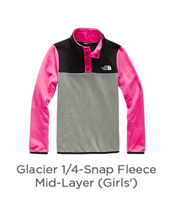 Glacier 1/4-Snap Fleece Mid-Layer