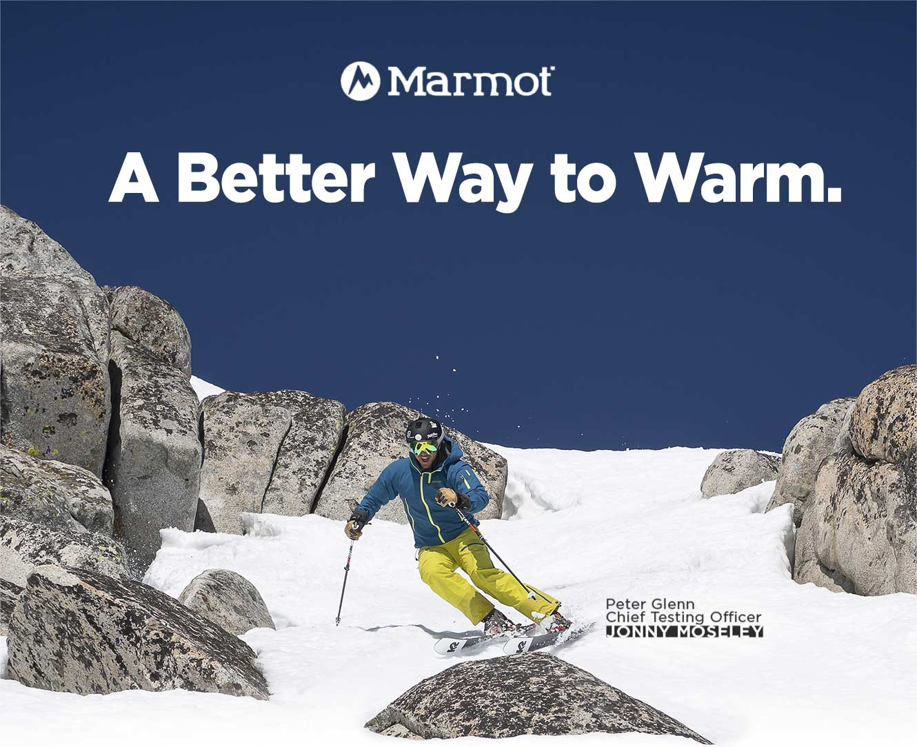 Marmot: A Better Way to Warm.
