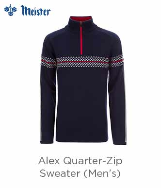 Meister Alex 1/4-Zip Sweater