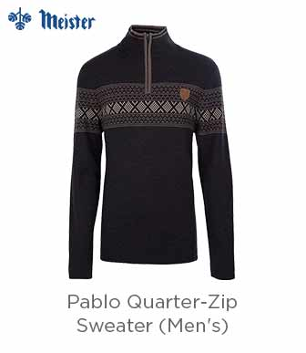Meister Pablo 1/4-Zip Sweater