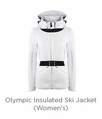 Post Card Olympic Insulated Ski Jacket